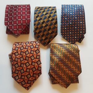 Jos. A. Bank | 5pc silk ties lot